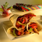 NM Hatch Green Chile Grilled Chicken Fajitas